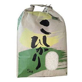 高知県香美市産 農家さん直送 令和2年産減農薬コシヒカリ5キロ