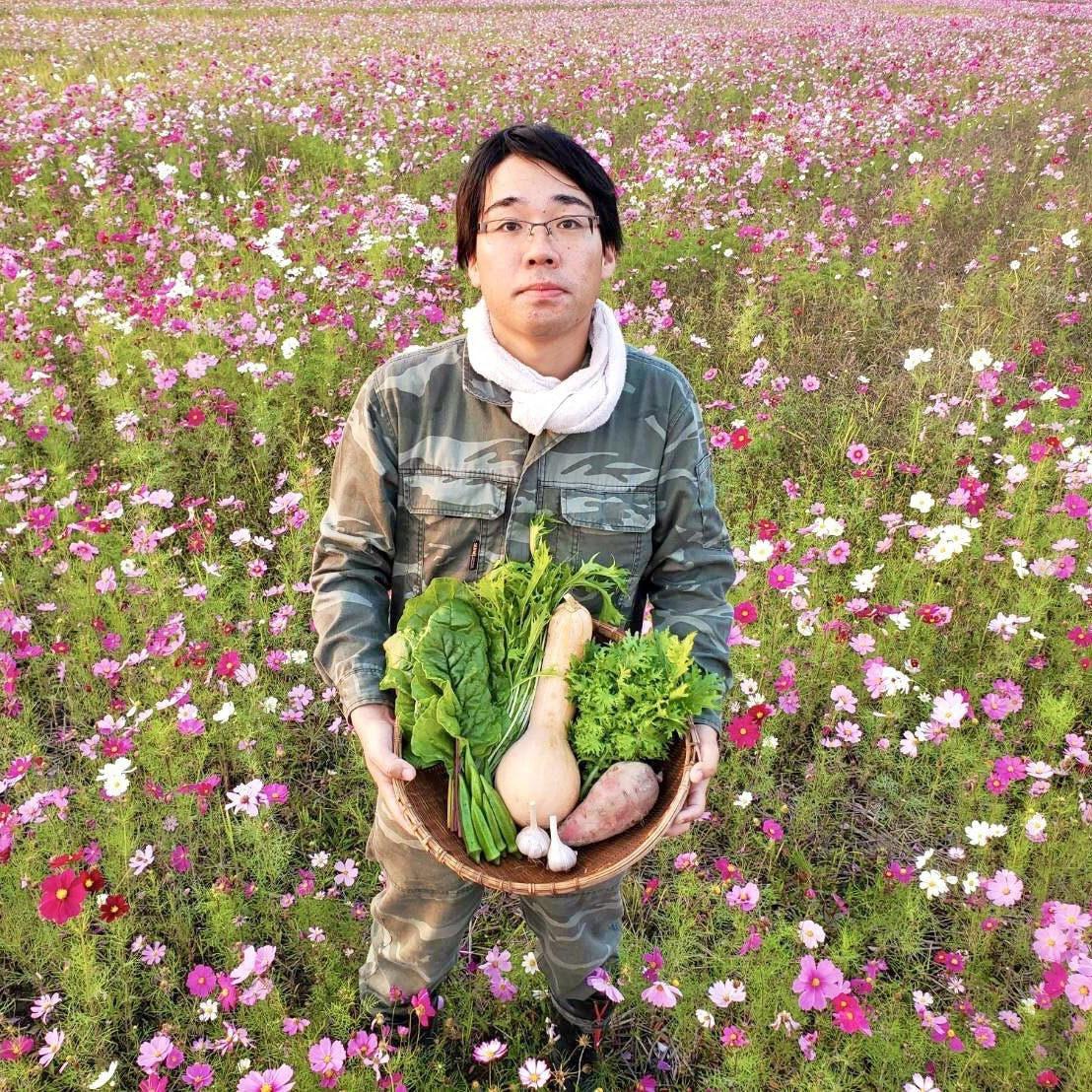 濱田農園 5代目 濱田悠杜さん